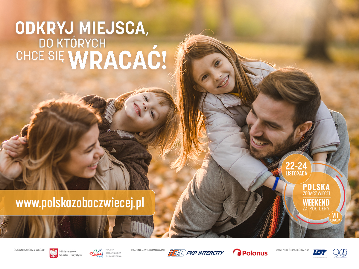 Poland see more – half price weekend